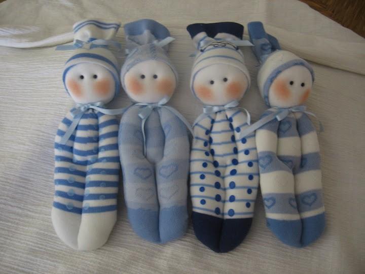 куклы из носочков