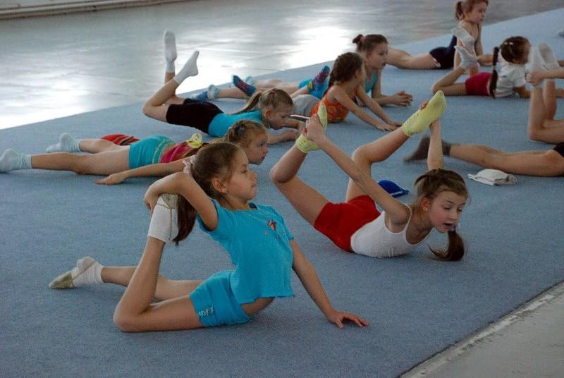 Спортивная секция: художественная гимнастика